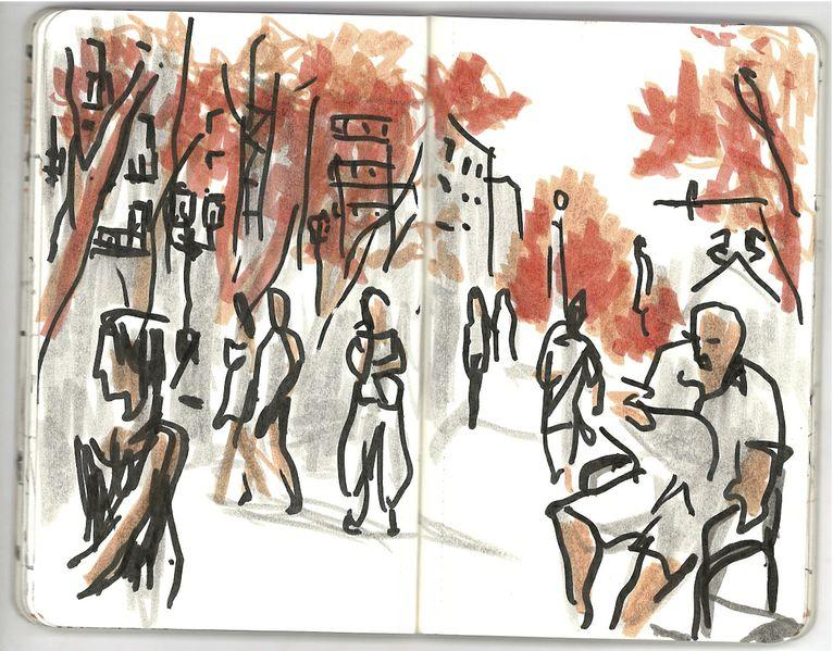Concurso De Dibujo Urbano En Libreta Fnac Madrid: ¿Habéis Afilado Los Lápices…? Recordad Que Mañana Es