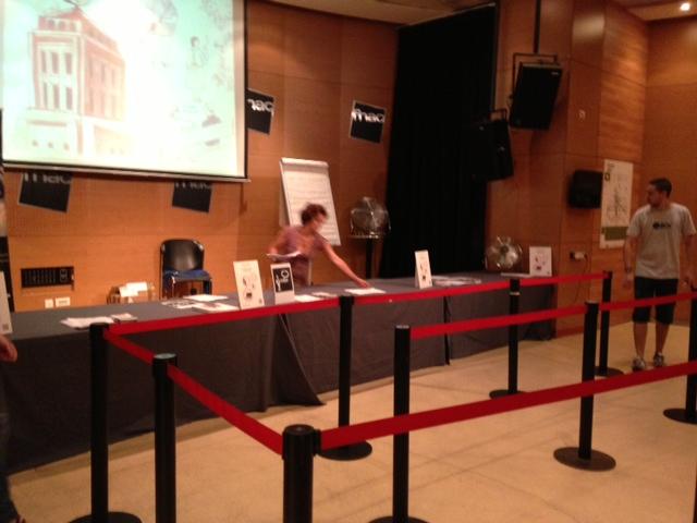 Concurso De Dibujo Urbano En Libreta Fnac Madrid: En Directo Desde El FNAC: Preparativos Del Concurso De